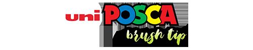 UNI POSCA Brush Tip